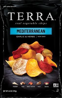 Mediterranian Garlic & Herb - Terra Vegetable Chips