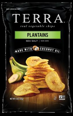 Plantains Sea Salt - Terra Vegetable Chips