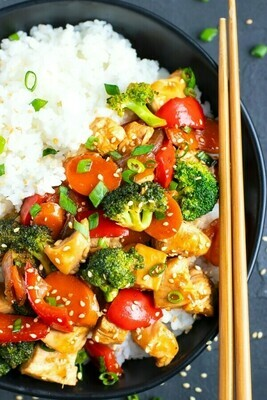 DYO Shrimp Teriyaki Stir Fry Kit - LOCAL Grocery Garden Originals