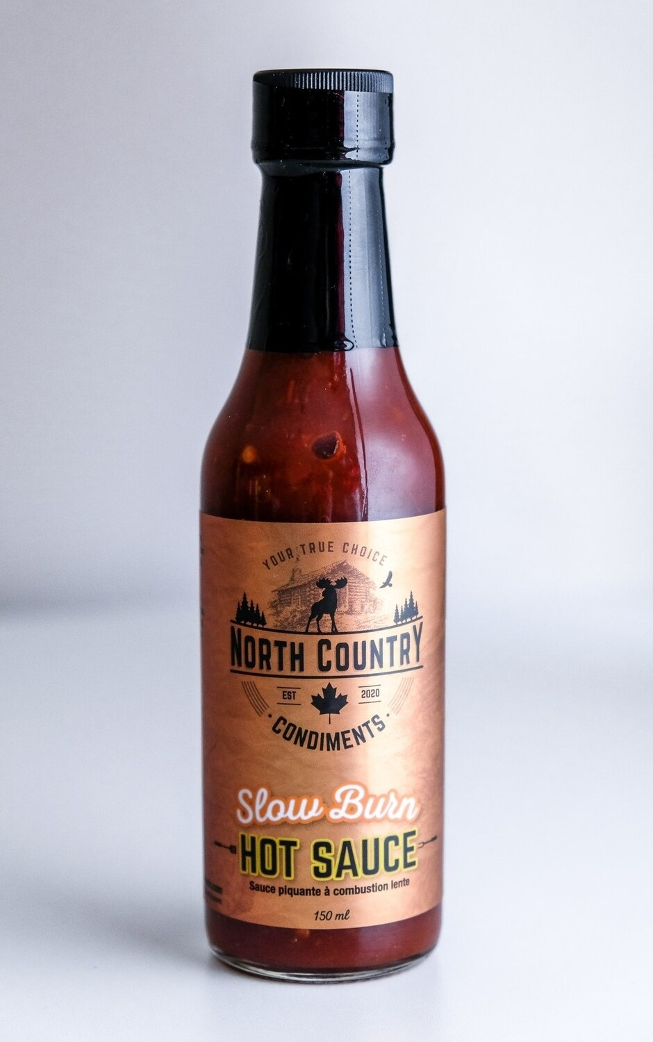 North County Slow Burn Hot Sauce - LOCAL