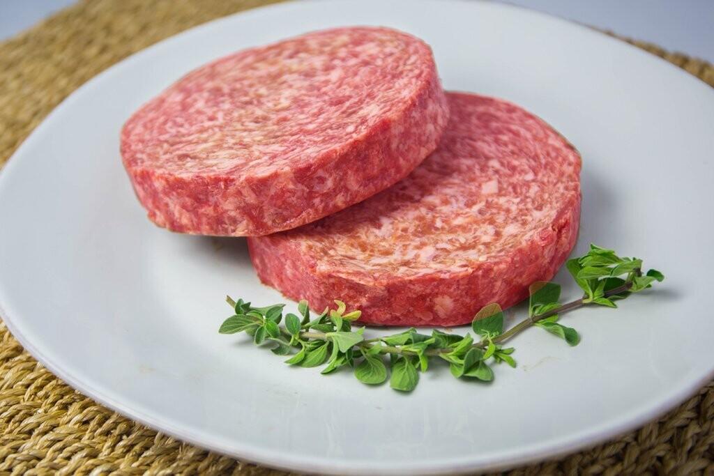 Wagyu Beef Burgers Large 8oz 2 Pack - ROBBINS ISLAND