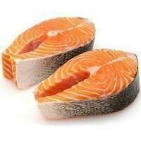Salmon Steaks Wild Frozen - 6oz