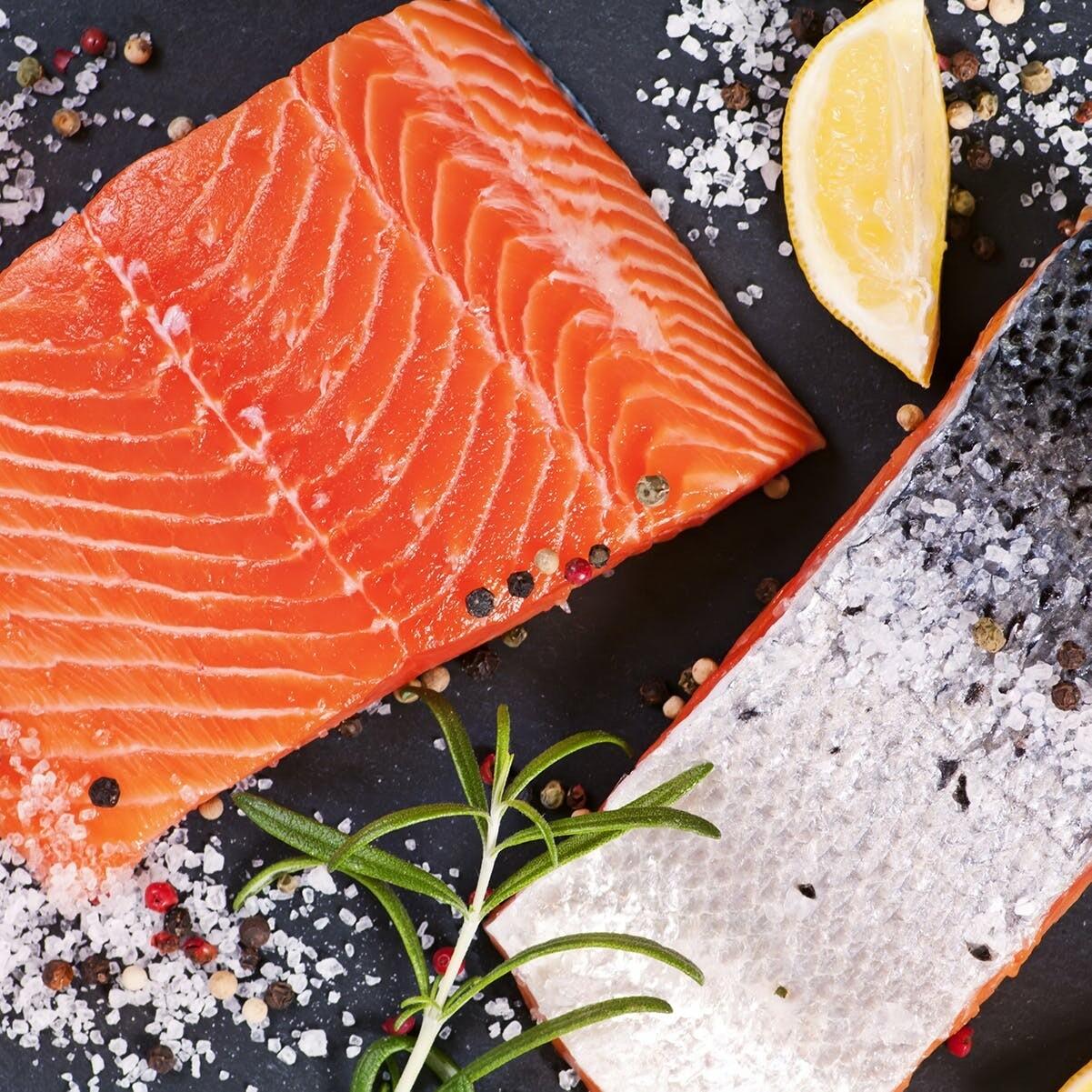 Salmon Filets Wild Atlantic - 2 * 6oz
