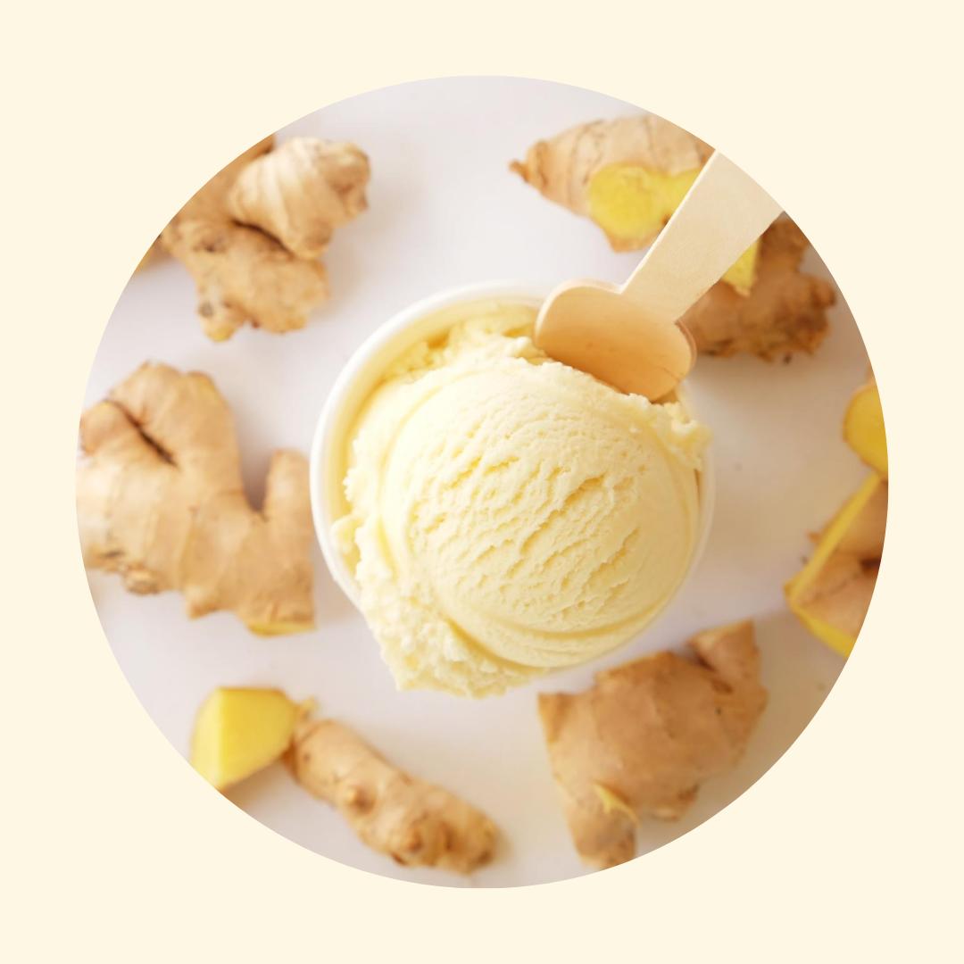 Four All Ice Cream - Honey Ginger Ice Cream - LOCAL