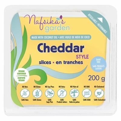 Cheddar Style Slices - Vegan Nafsika's - 200g