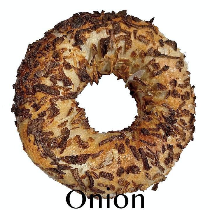 Onion Wood Fired Bagel - Nu Bagel LOCAL