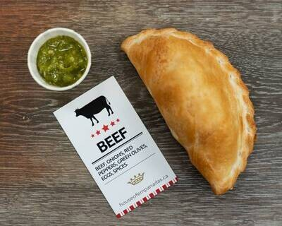 Beef Empanadas (Halal) 5 pack - LOCAL House of Empanadas