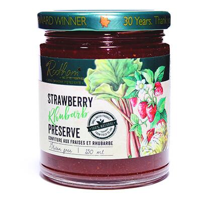 Strawberry Rhubarb Spread LOCAL Barrie's Asparagus Farm