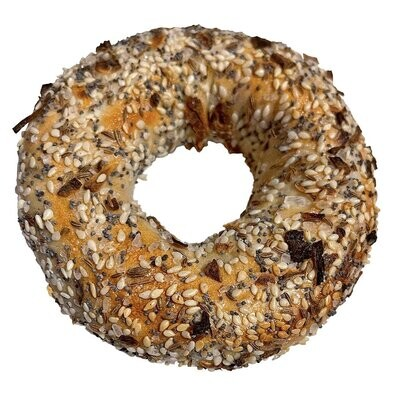 Everything Wood Fired Bagel - Nu Bagel LOCAL