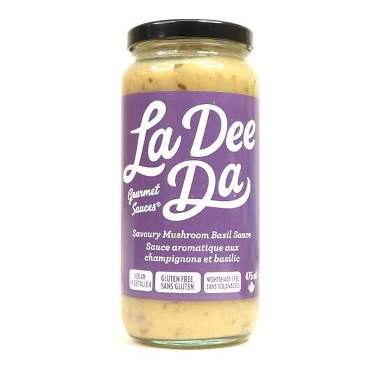 Savoury Mushroom Basil Sauce - LOCAL