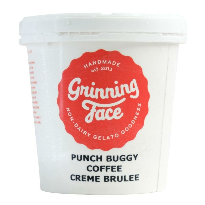 Punch Buggy Coffee Creme Brulee Gelato - LOCAL