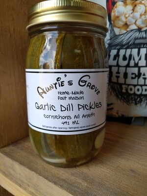 Auntie's Grove Garlic Dill Pickles - Local