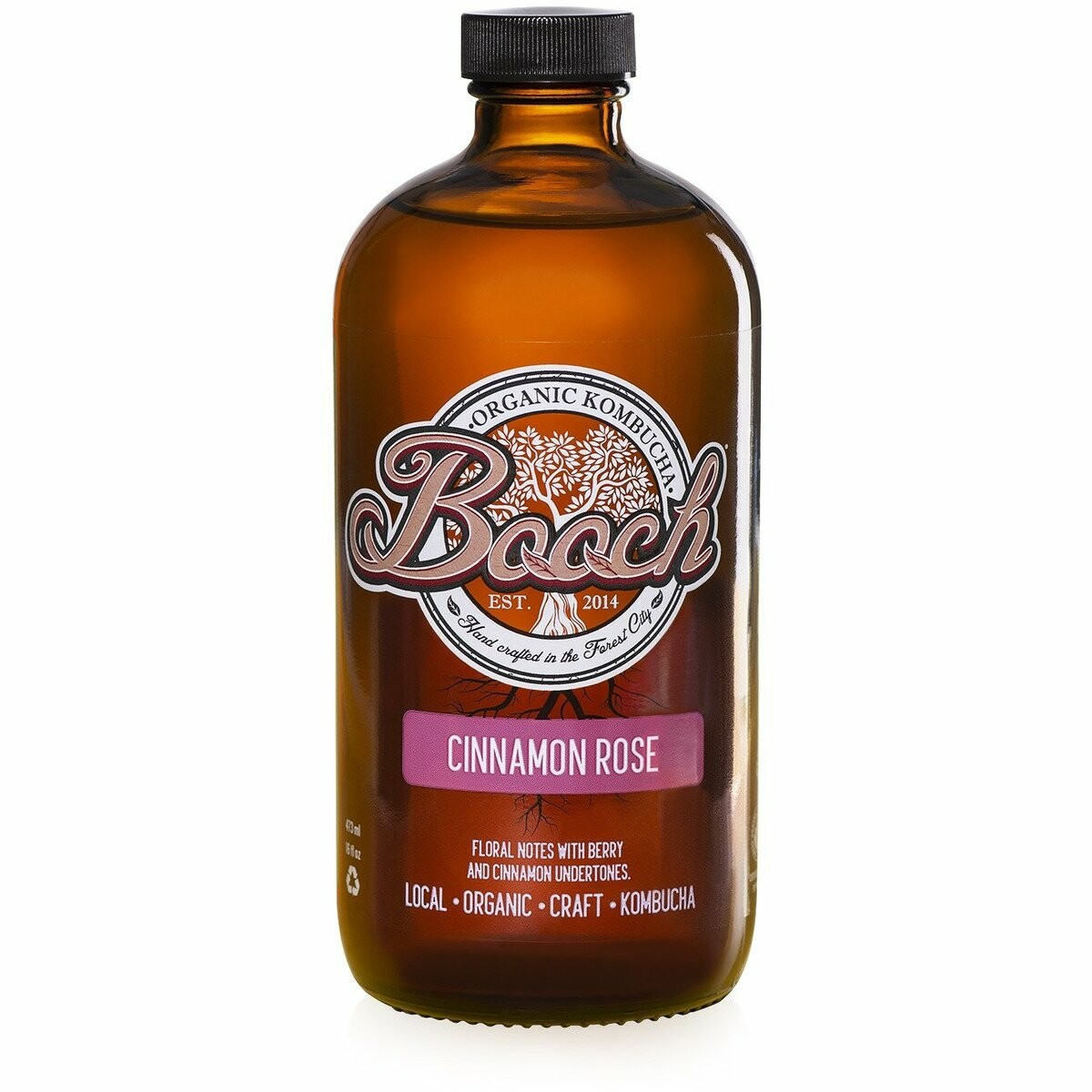 Booch Cinnamon Rose Kombucha - London Ontario
