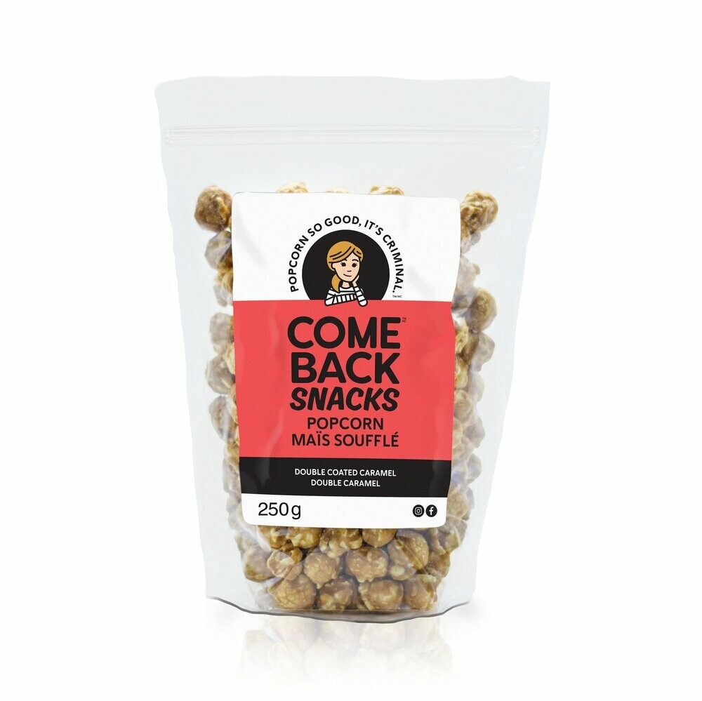 Double Coated Caramel Popcorn - LOCAL