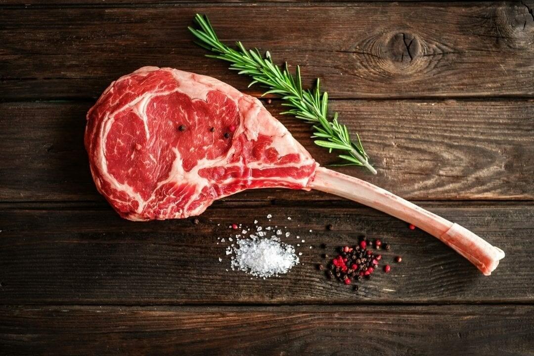 Angus Dry Aged Tomahawk Steaks 20oz - Ontario Beef AAA