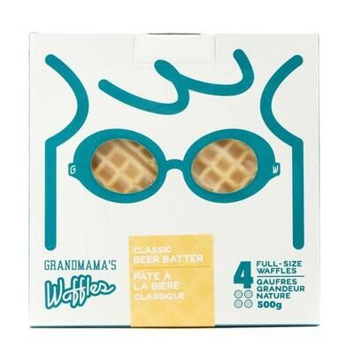 Classic Beer Batter Waffle - Box of 4 LOCAL