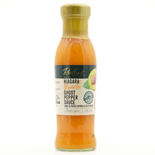 Niagara Peach Ghost Pepper Dipping Sauce - LOCAL Roothams Gourmet
