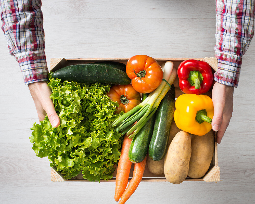 Monthly Recurring Produce Box Donation