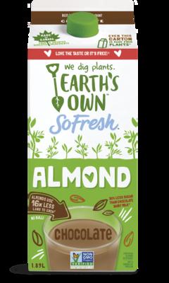 Earth's Own Chocolate Almond Milk - 1.89L