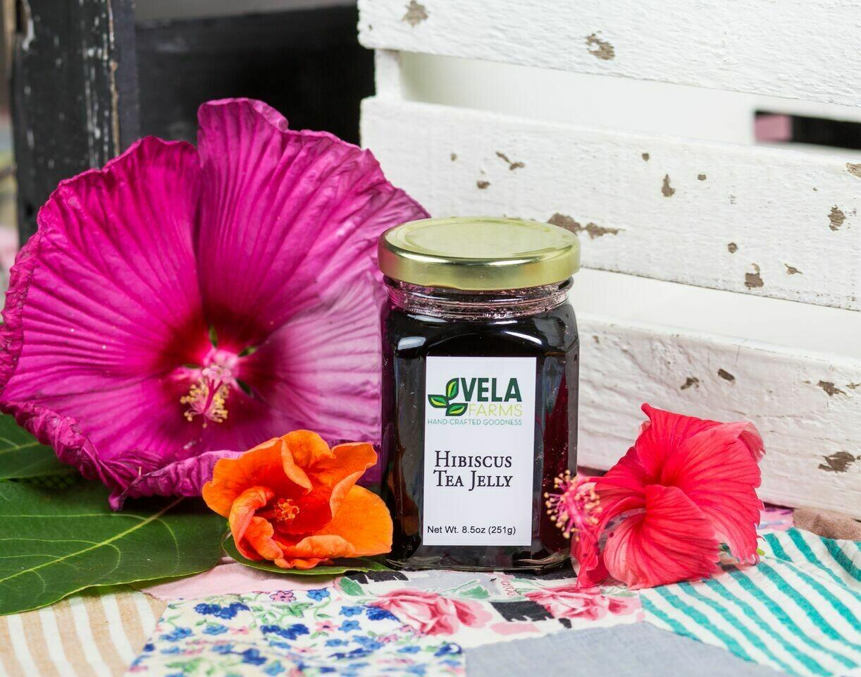 Hibiscus Tea Jelly
