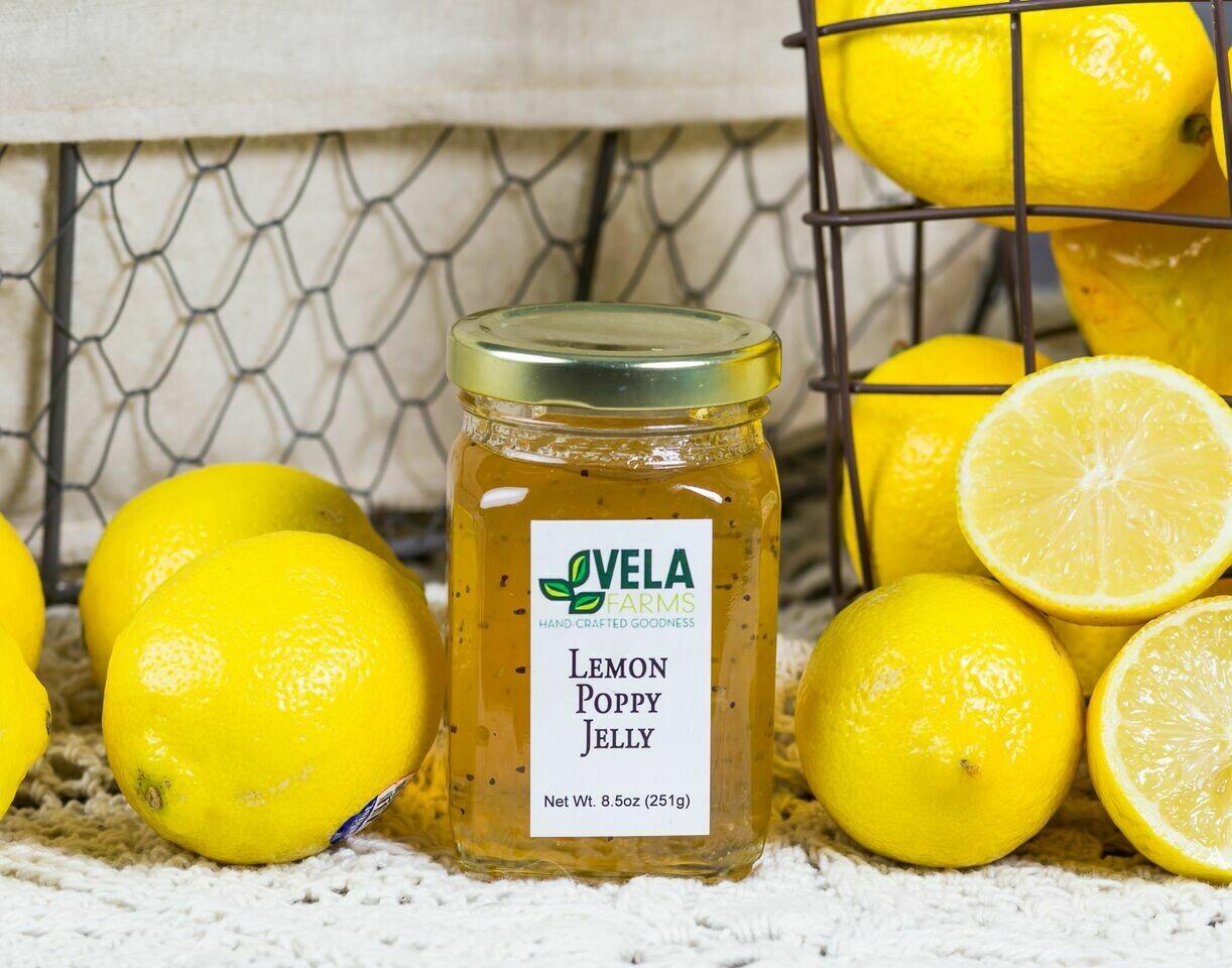Lemon Poppy Jelly