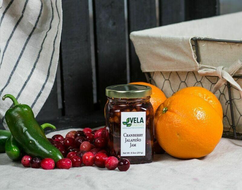 Cranberry Jalapeno Jam