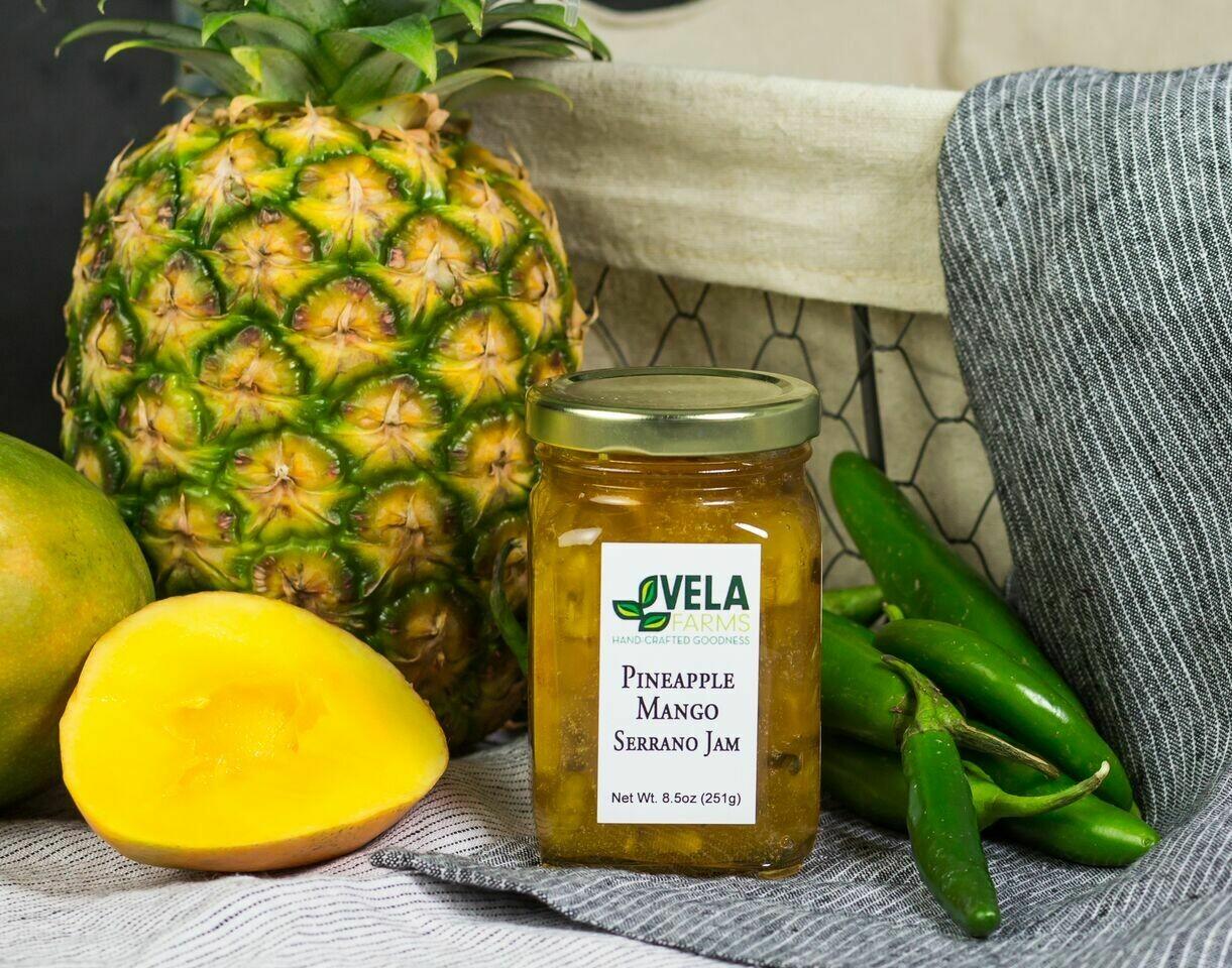Pineapple Mango Serrano Jam