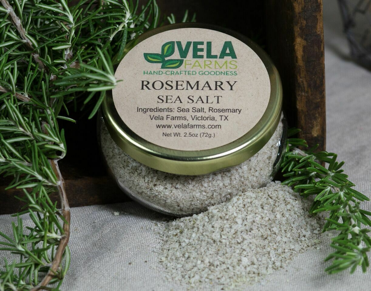 Rosemary Sea Salt