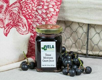 Texas Mustang Grape Jelly