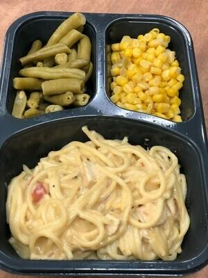 Chicken Spaghetti Meal