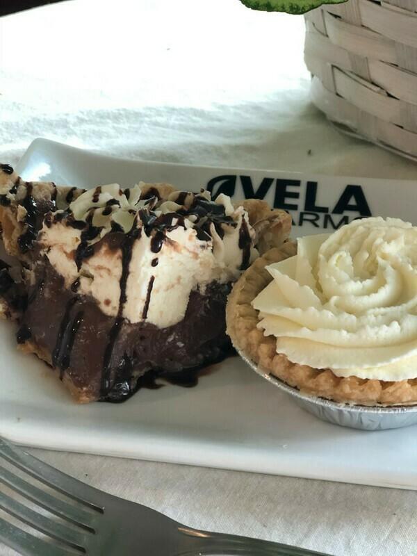 Fresh Chocolate Cream Pie*