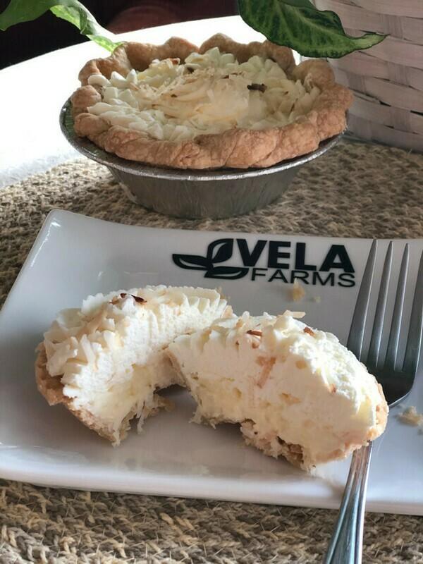 Fresh Coconut Cream Pie*
