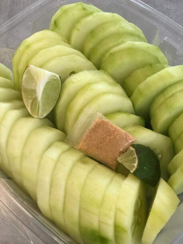 Fresh Cut Cucumber