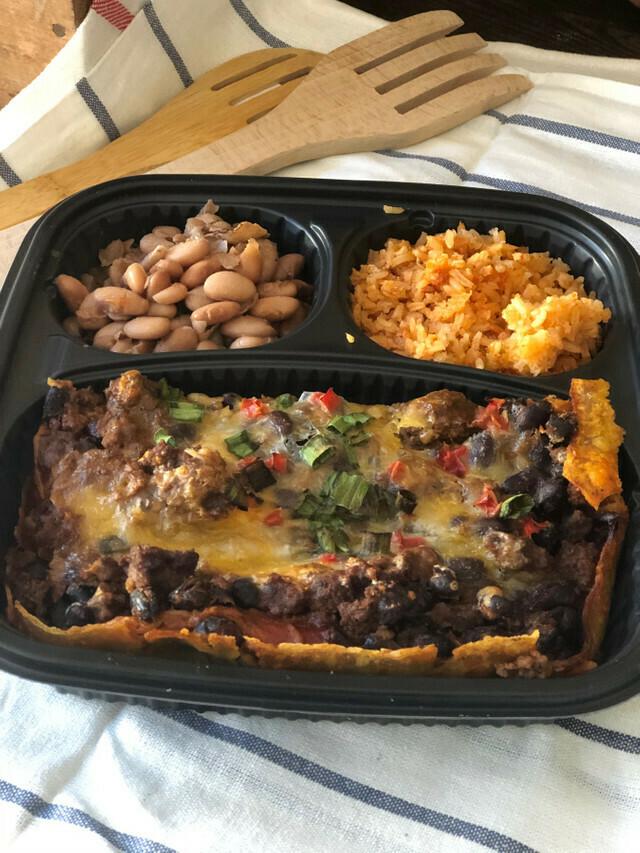Enchilada Casserole Meal