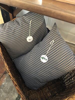 B&W Plaid Pillows