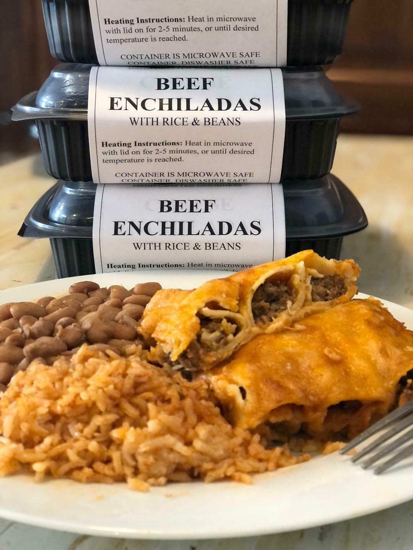 Beef Enchilada Meal (Frozen)*