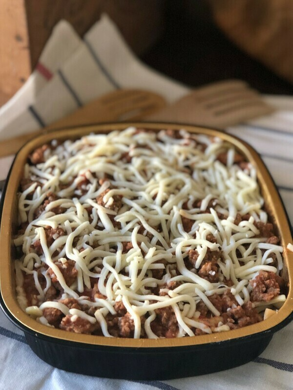 Italian Meat Lasagna (Frozen)*