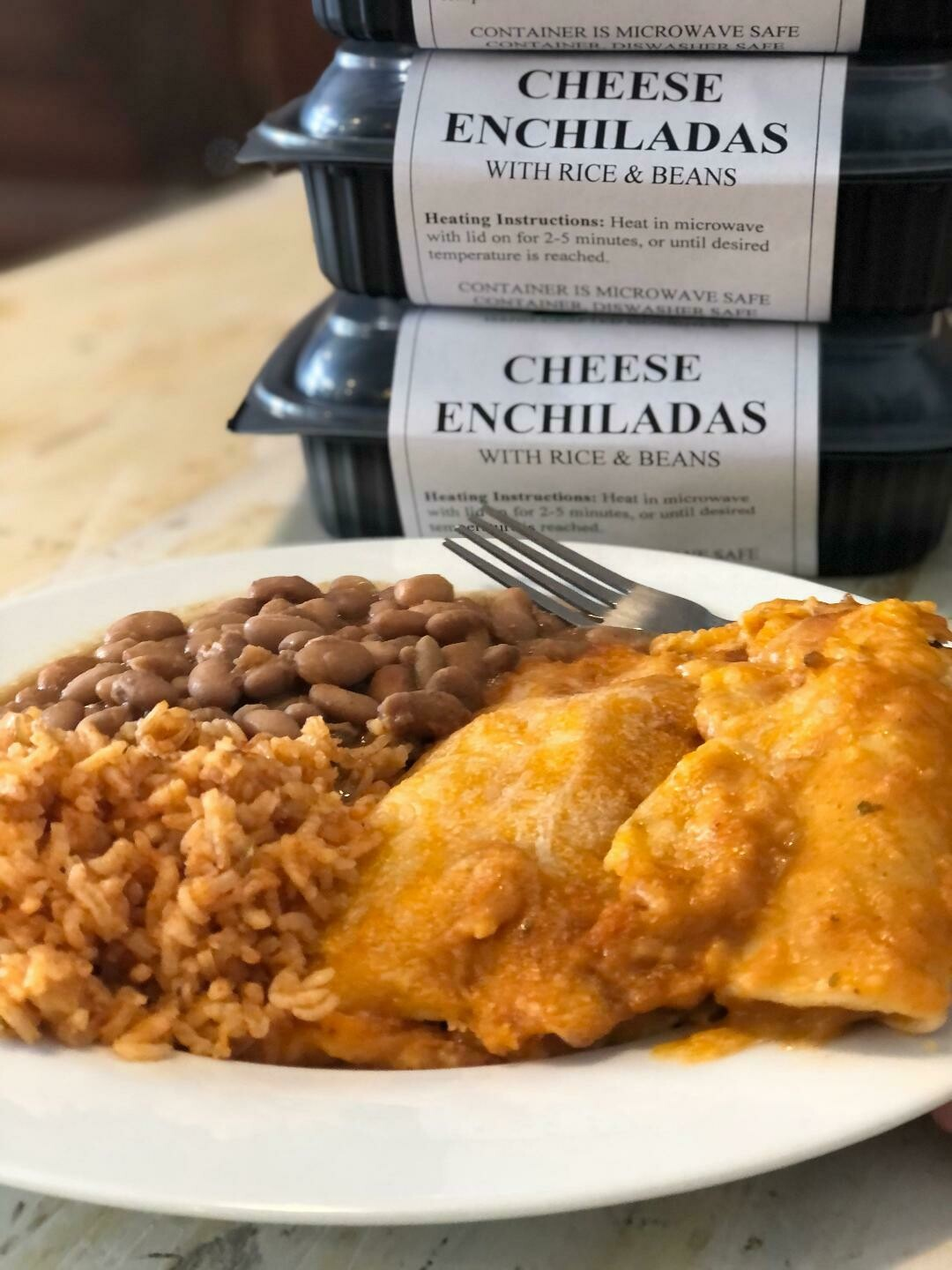 Cheese Enchilada Meal (Frozen)*