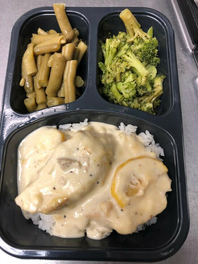 Lemon Chicken & Rice Meal (Frozen)*