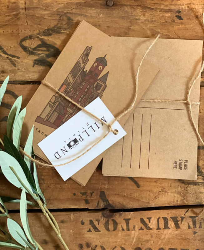 Staunton Post Cards