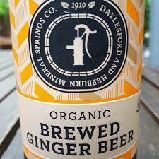 Organic Brewed Ginger Beer