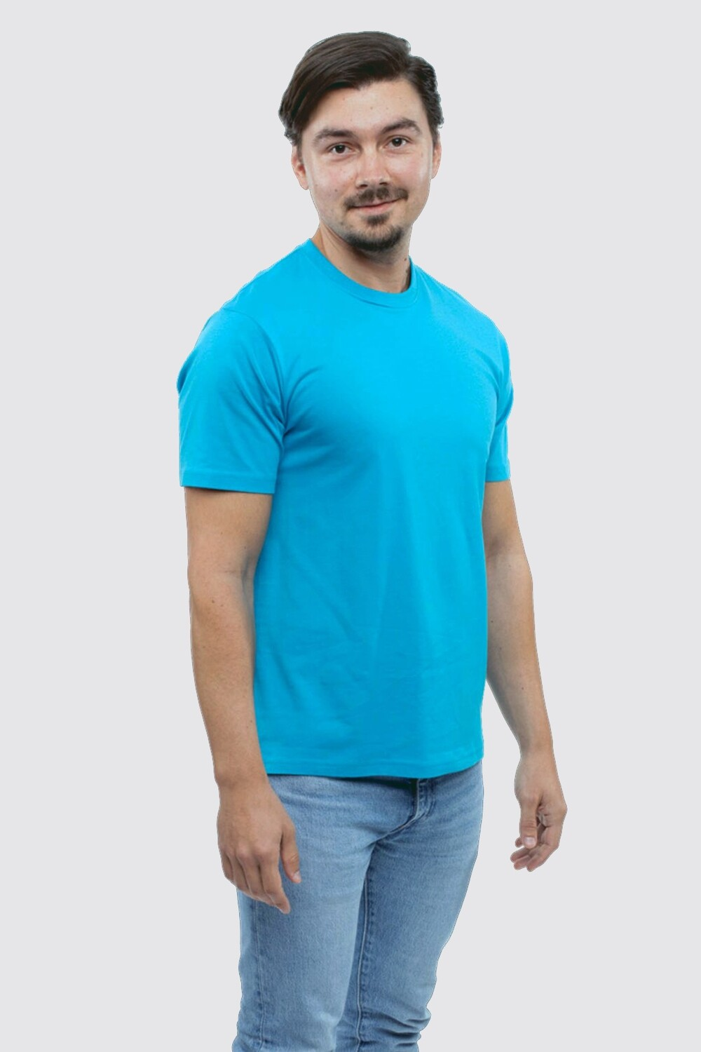 Whale men's round neck t-shirt Whale by Switcher 2034