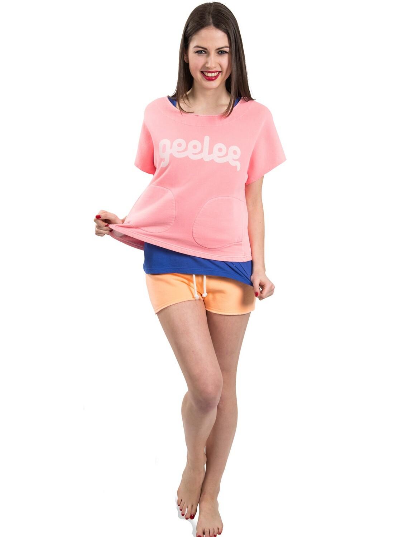 Geelee Cropped Damen Sweatshirt