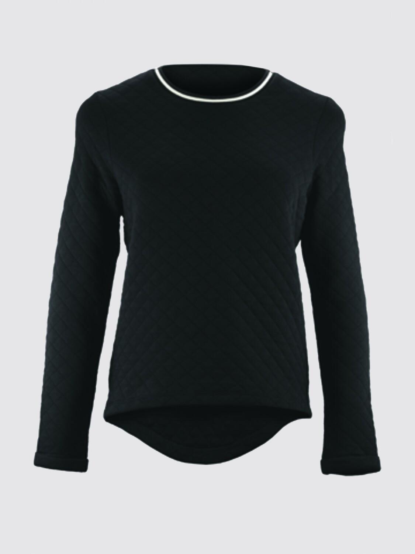 "Round neck sweatshirt ""Diamond Fleece"""