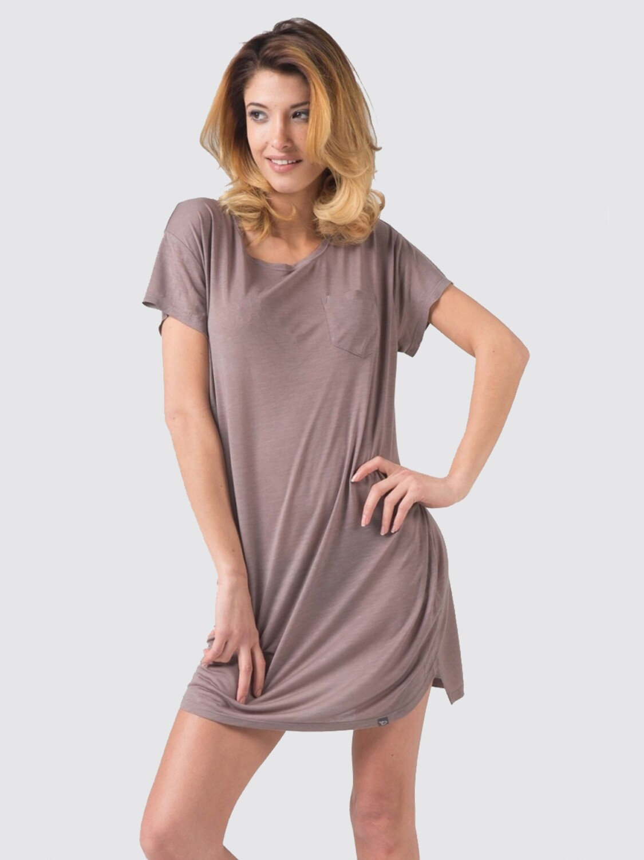 Fine ladies t-shirt dress Switcher Evia