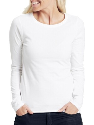 Women's long sleeve t-shirt, jersey stretch Liliane