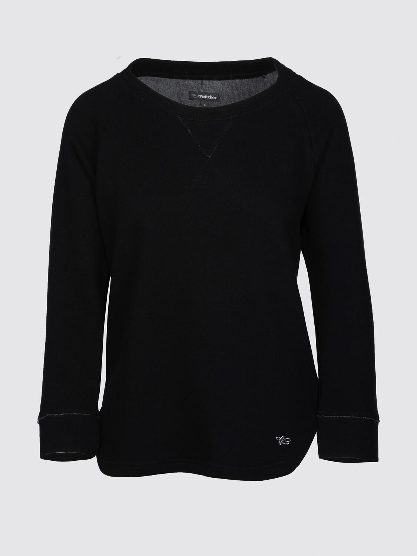 Round neck sweatshirt women Tara