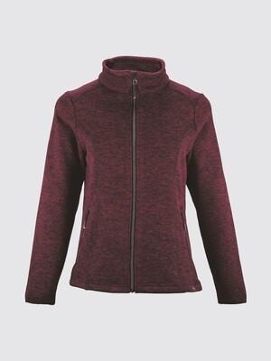 Switcher women sweater jacket Kulma with fur