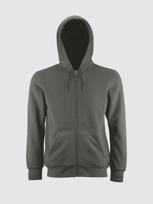 Switcher hooded sweater jacket Hoggar with fur