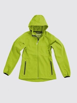 Switcher women hooded softshell jacket Avoriaz